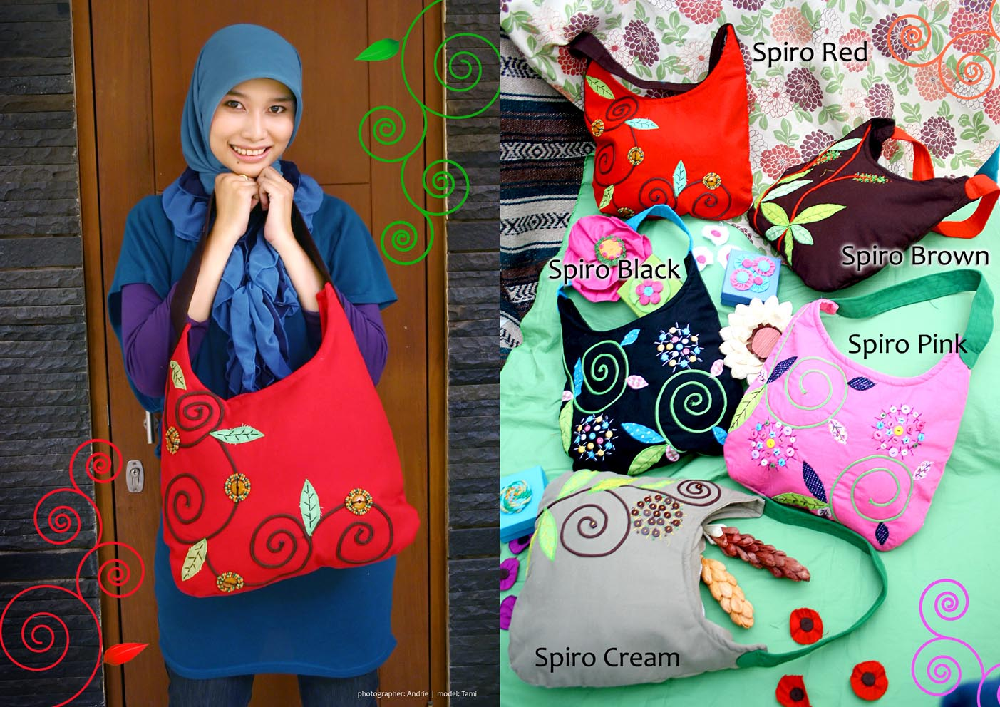 RAZIN GARAGE MAIKA ETHNIC BAG