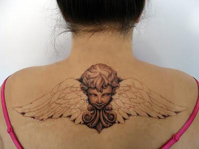 cherubs tattoos. Cherub Tattoo Designs
