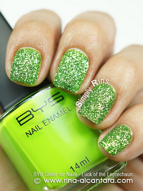 BYS Glitter for Nails Leprechaun