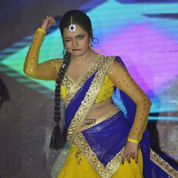 Ashima Sharma  performs during the launch of Leading Jewellers of the world presents Ticket to Bollywood by Gitanjali Gems Pvt Ltd in Mumbai. (Pic: Viral Bhayani)