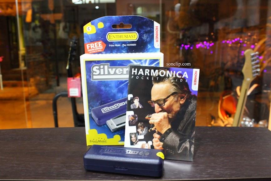 Kèn Harmonica - Hohner Silver Star (key C)