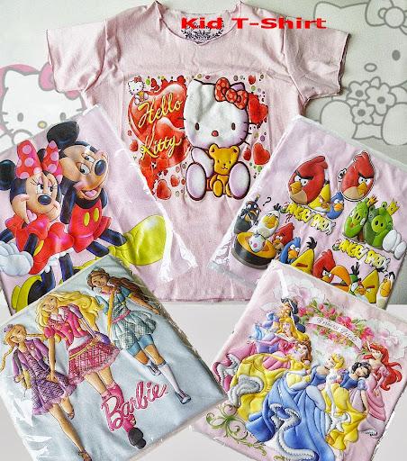 baju kaos anak kecil