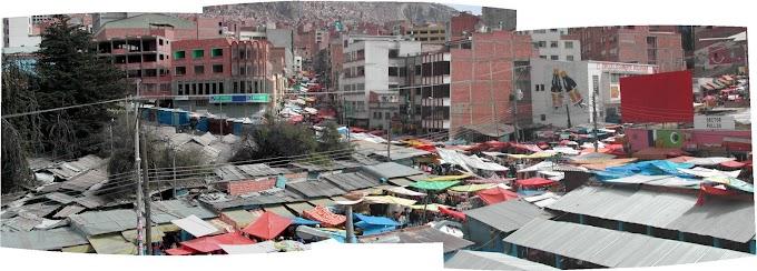 El Mercado Rodríguez en La Paz