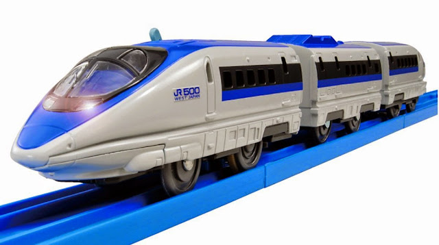 Bộ Tàu hỏa có đèn S-02 Series 500 Bullet Train mô phỏng giống với thực tế