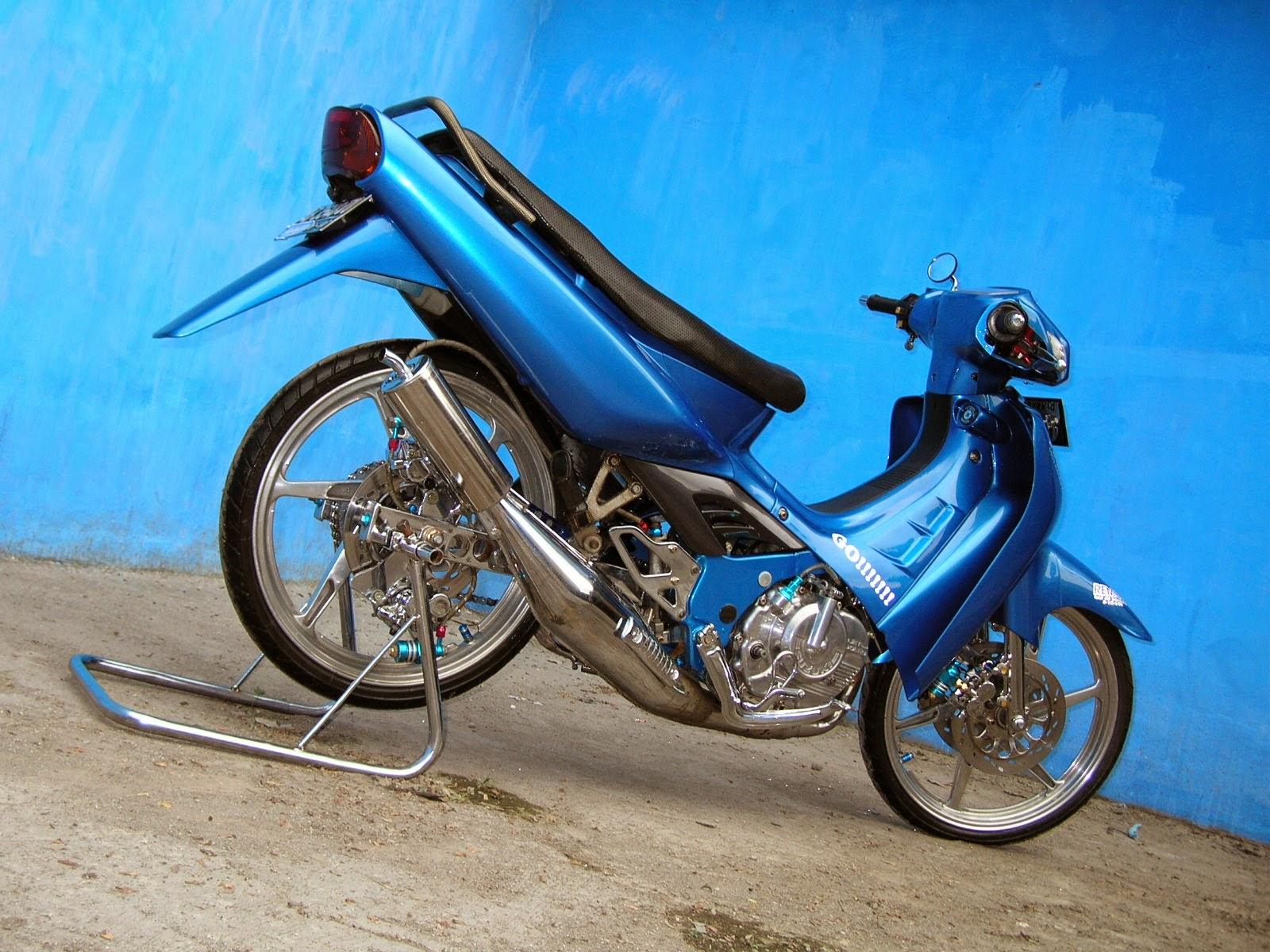 Suzuki Smash Modifikasi Racing