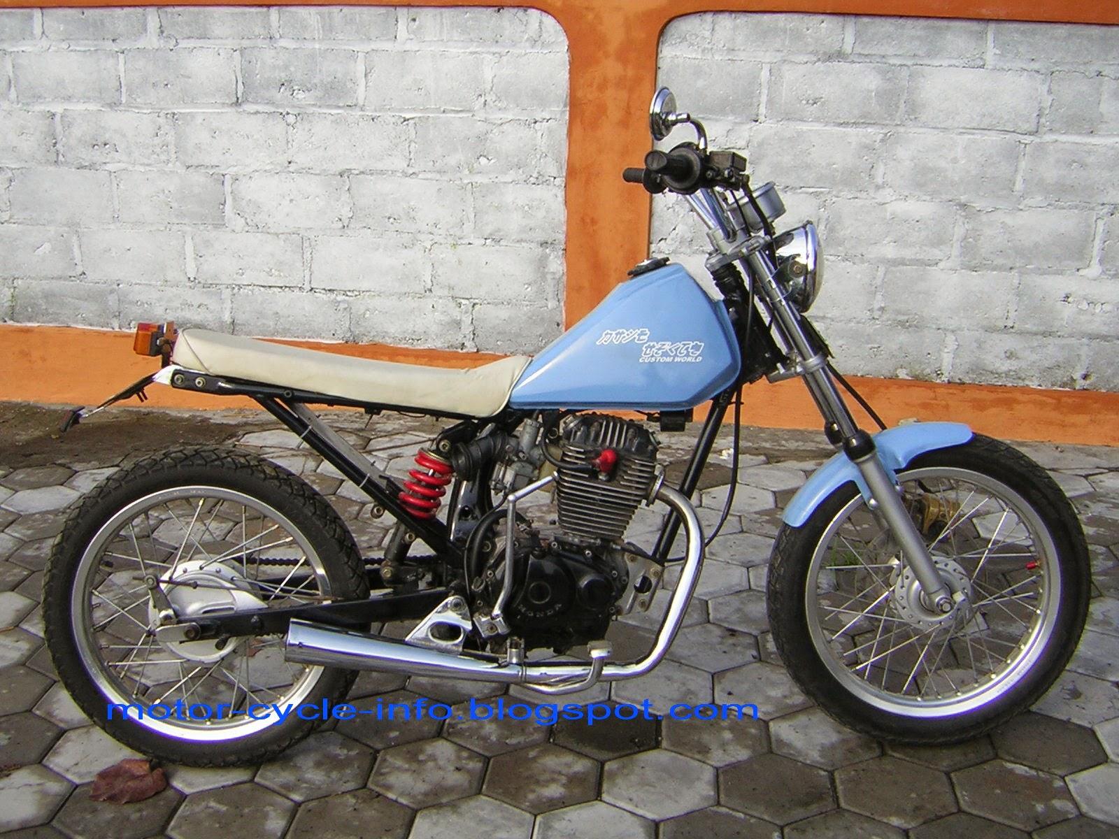 Modifikasi Gl Max Jadi Harley