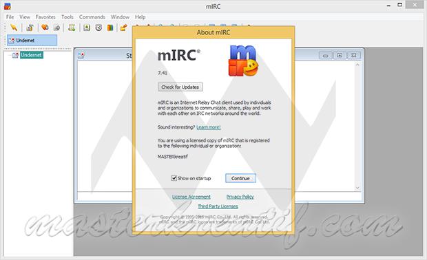 mIRC v7.41 Full Crack