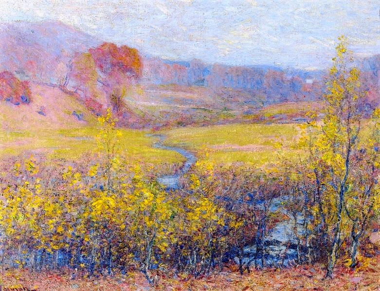 Robert Vonnoh - Late Autumn