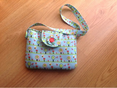 DIY girl bag tutorial and pattern