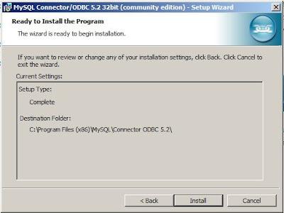 Driver ODBC instalado y configurado con conexión a serivdor de base de datos