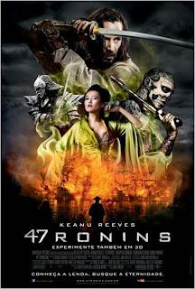 Filme Poster 47 Ronins TS XviD & RMVB Dublado