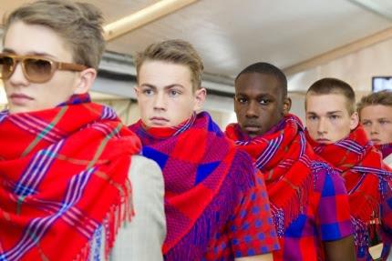 fashion moda africana exótica LouisVuitton Maasai Vlisco telas motivos