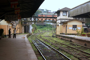 Trains from Hatton to Kandy