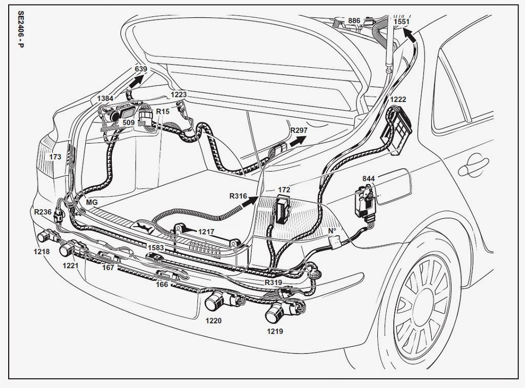 Schema Elektroinstalace Renault Club Cr Sr