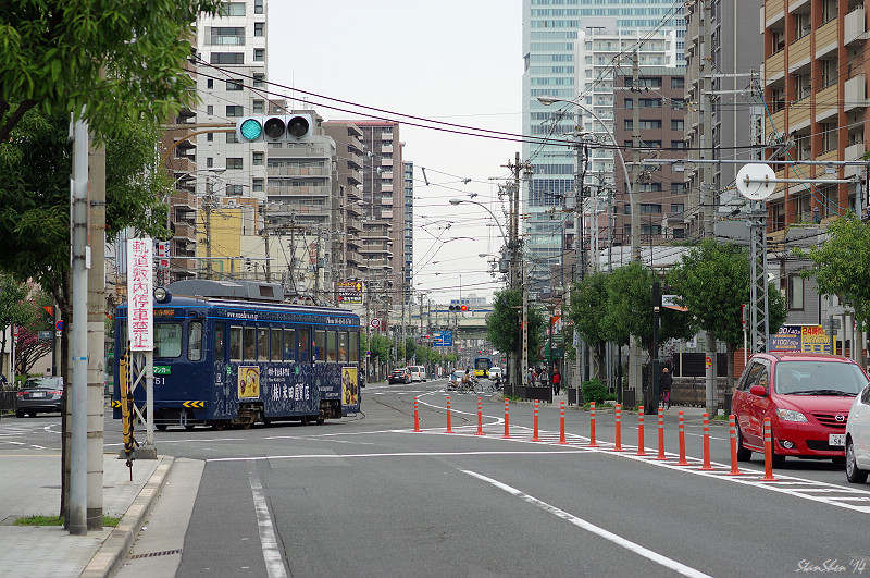 當K-3遇見77 - 阪堺電車途中下車之旅