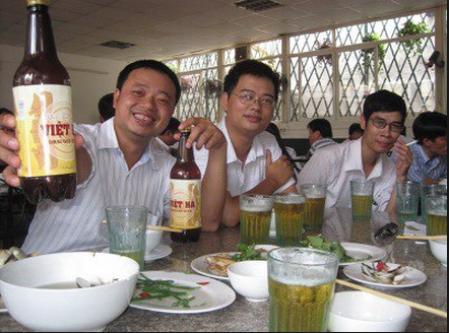Bia Việt Hà có mặt rộng khắp các tỉnh miền Bắc