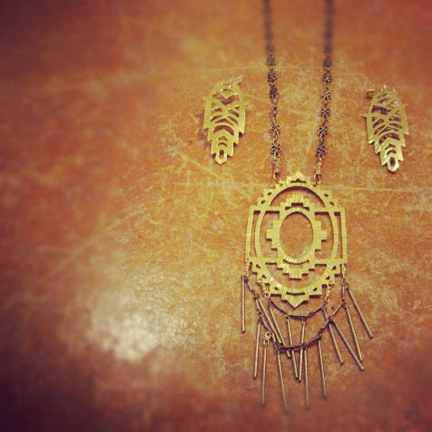 nikki jacoby persei necklace at velouria boutique in ballard seattle jewelry
