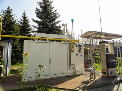 Sosnowiec. Stacja CNG Vitkovice-Milmet SA