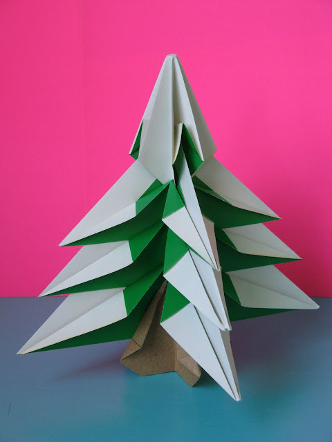 Origami foto Abete - Fir tree by Francesco Guarnieri