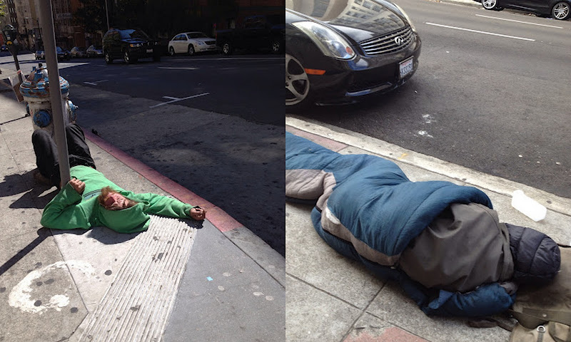 the homeless of San Francisco