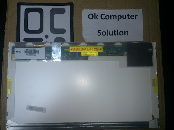 Original LED Screen 17.3' For HP Laptop