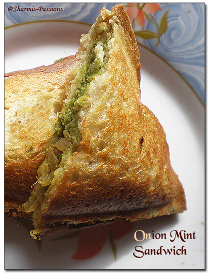 Onion Mint Sandwich
