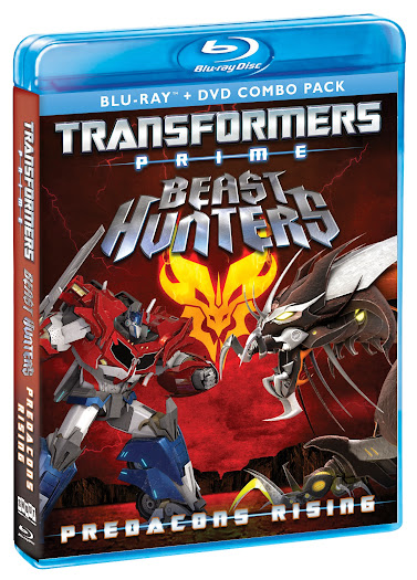 Movie News - Transformers Prime Beast Hunters - Predacons Rising Blu-ray Combo Pack Available October 8, 2013