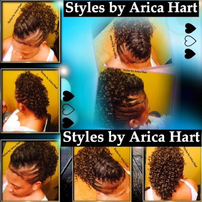 Lifted braid hair styles by Arica Hart | hair stylist, hair salon, hair care, beauty,