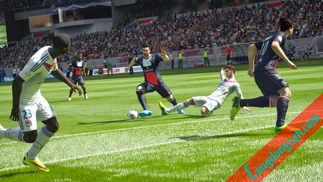 FIFA 15 chân thật đến từng cầu thủ