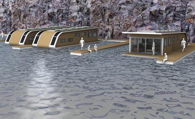 Плавучий эко-дом
