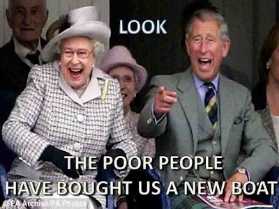 Funny Jubilee Queen Charles Image