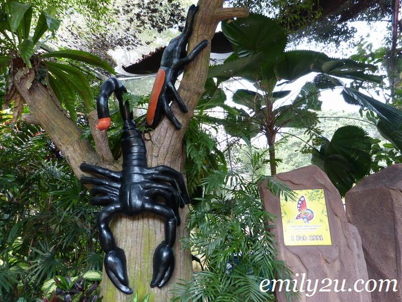butterfly park Melaka