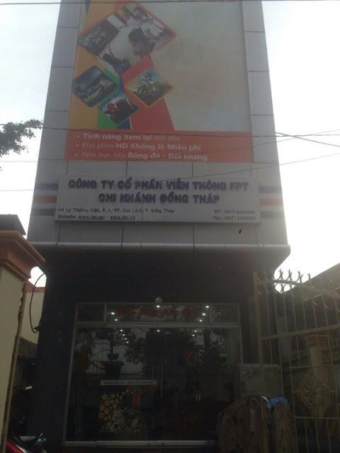 Văn Phòng Công Ty FPT Telecom Cao Lãnh, Đồng Tháp