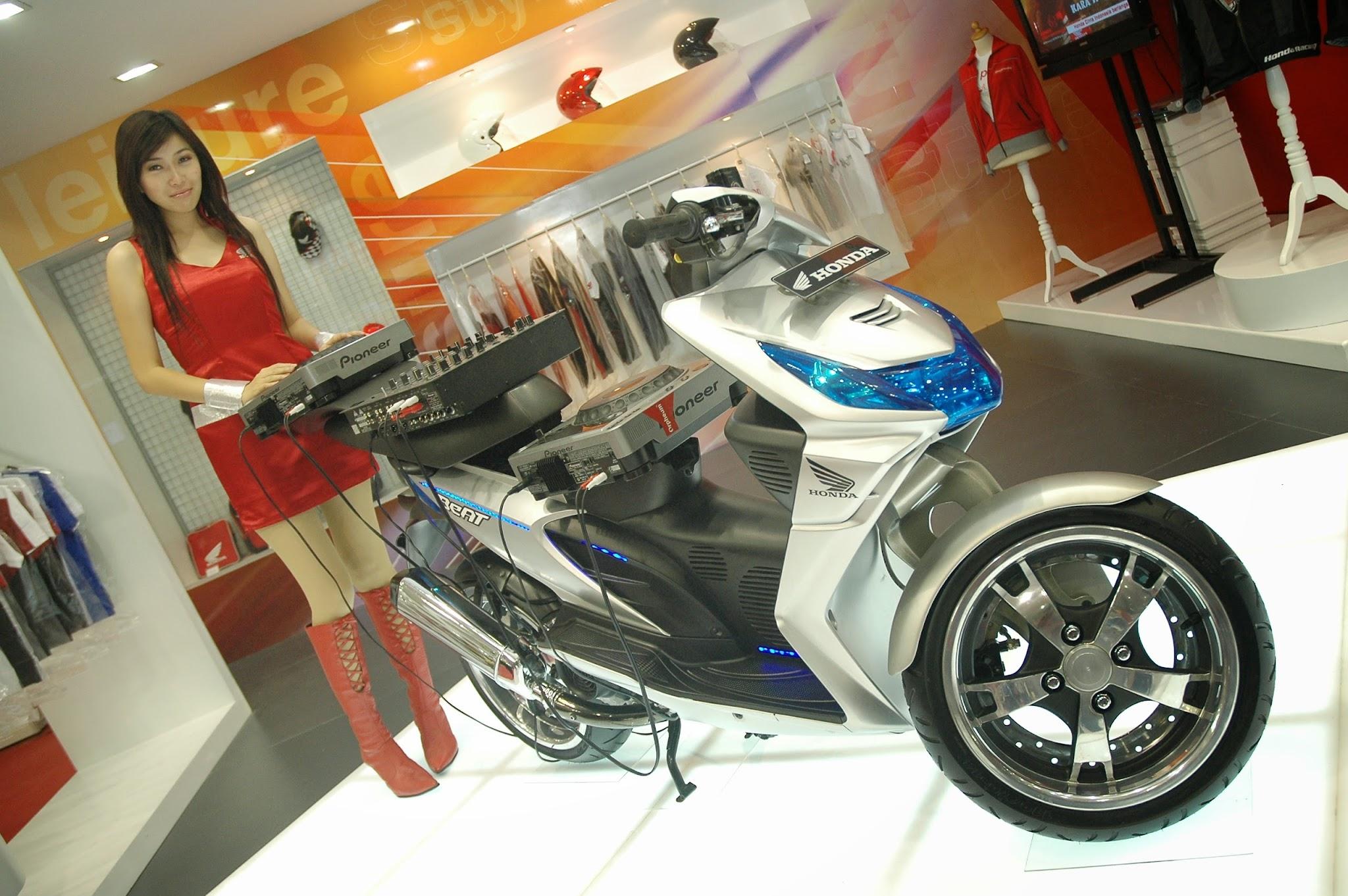 Modif Motor Honda Jadi Trail Gambar Modifikasi Terbaru