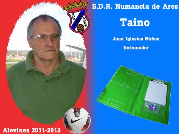ADR Numancia de Ares. Alevíns 2011-2012. TAINO.