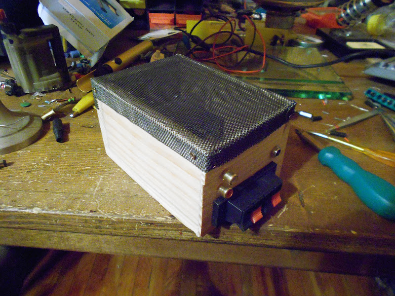 TA8207K Stereo,Costruzione. DSCN0638