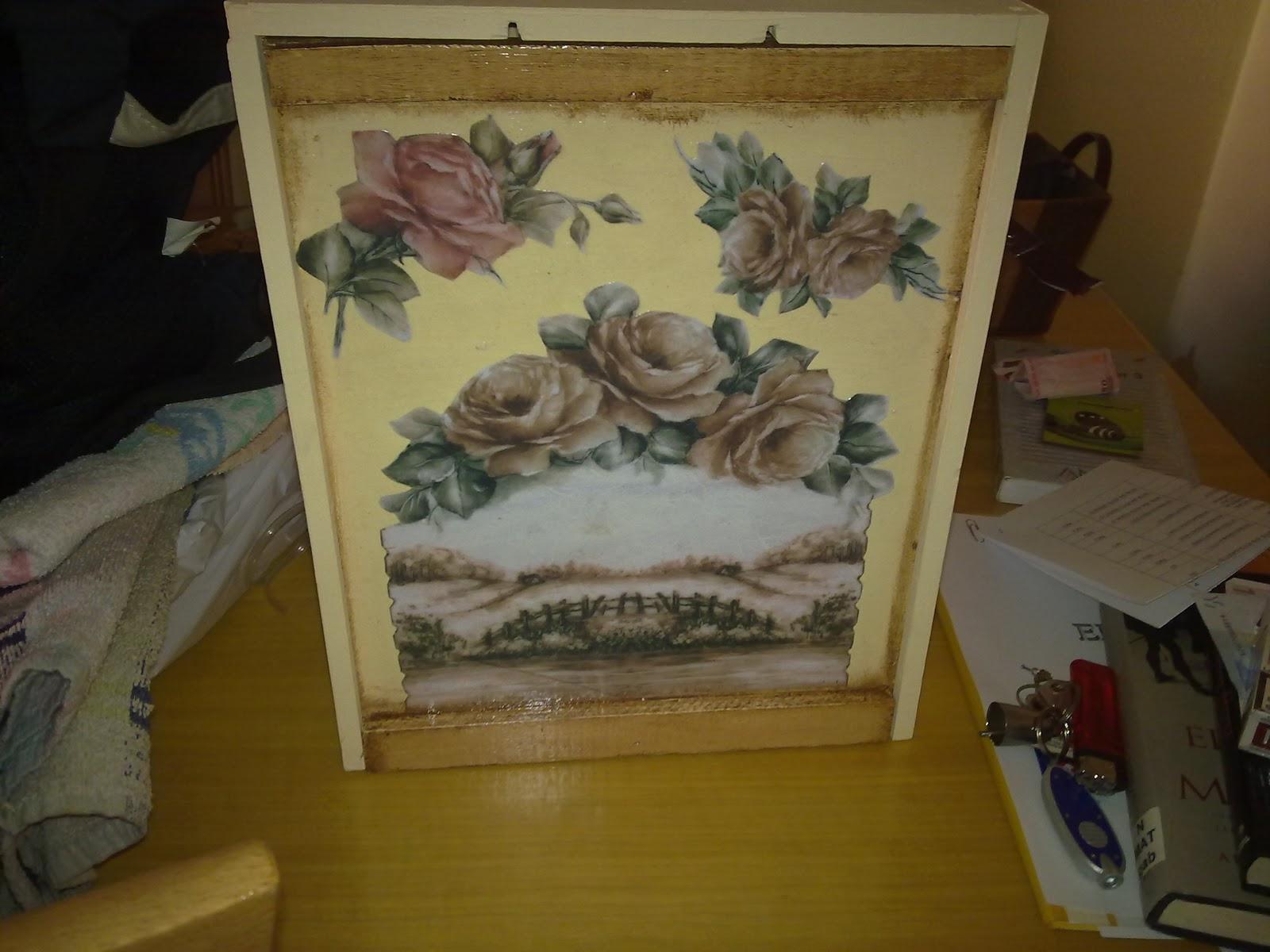 EL RINCON DE FLORDELIS cajas de vino decoradas