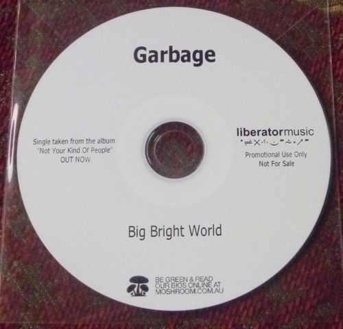 Garbage - Big Bright World Lyrics