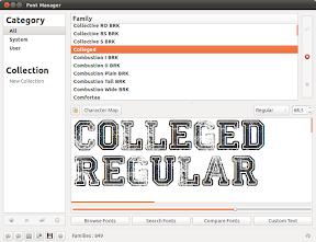Gestionar tus tipografías en Ubuntu con Font Manager