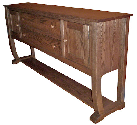 Cathedral Lancaster Sideboard in Medium Oak