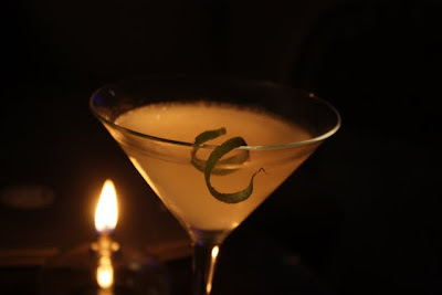Cocktail at Ember Lounge Prive in Manchester England