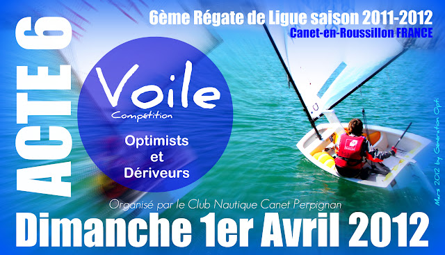 régate voile optimist opti Canet-en-Roussillon perpignan Génération-opti compétition