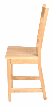 Montrose Barstool in Mixed Wood, Natural Finish