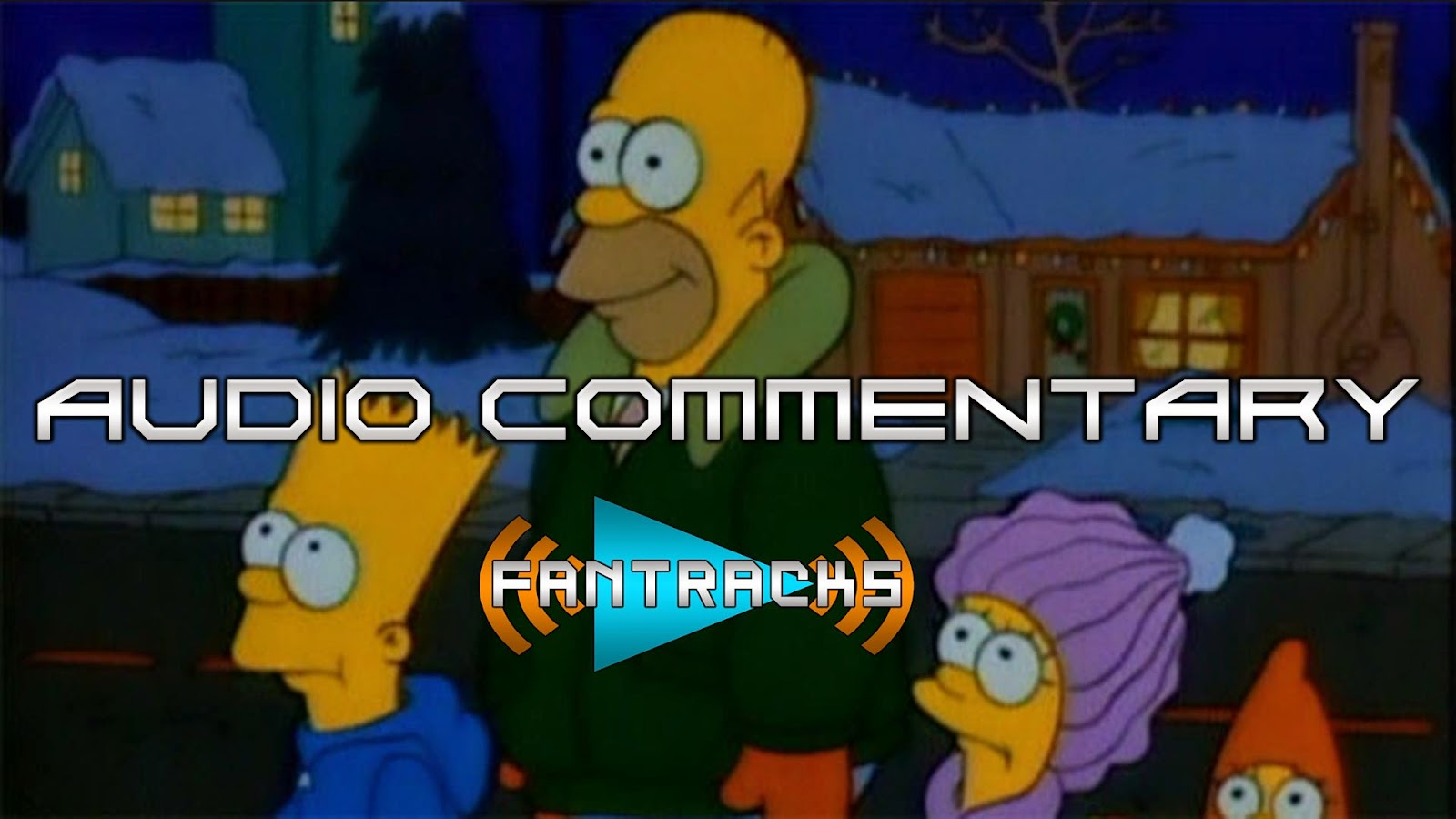 FanTracks The Simpsons audio commentary