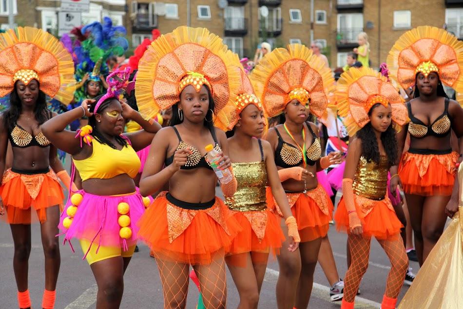 London. Notting Hill Carnival 2013. Люди и лица.