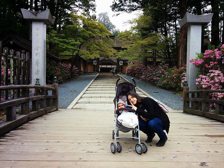 Entrada al templo Kongobuji
