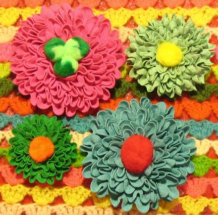 Flor com sianinha