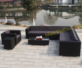 Rattan Sofa Set-MT132