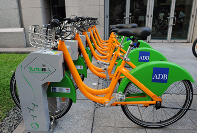 ADB bring bicycle sharing to ASEAN