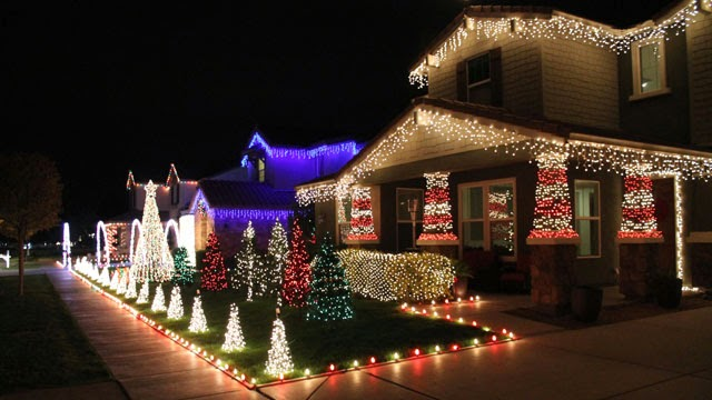 gilbert az christmas holiday lights